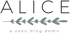 Alice WordPress Blog Theme Logo